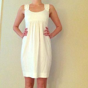 J Crew White Casual Comfy Dress